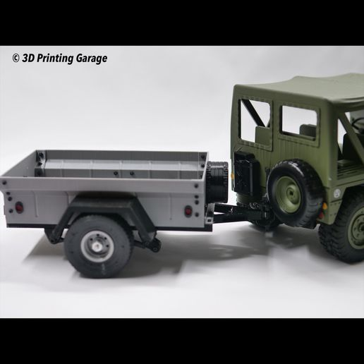 IMG_1602.JPG Download free STL file M416 Trailer in 1:10 Scale by ossum - Remix • Template to 3D print, 3dprintingspirits