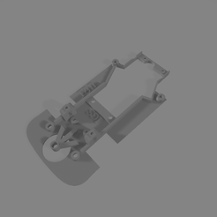 chasisf40fly.png Download STL file Chassis for F40 by Fly (slot cars ) • 3D printable template, Mperez1970