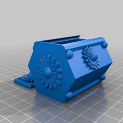 hexstroboxstrong.png Download STL file Sliding jewelry box • 3D printing object, BraveHeart
