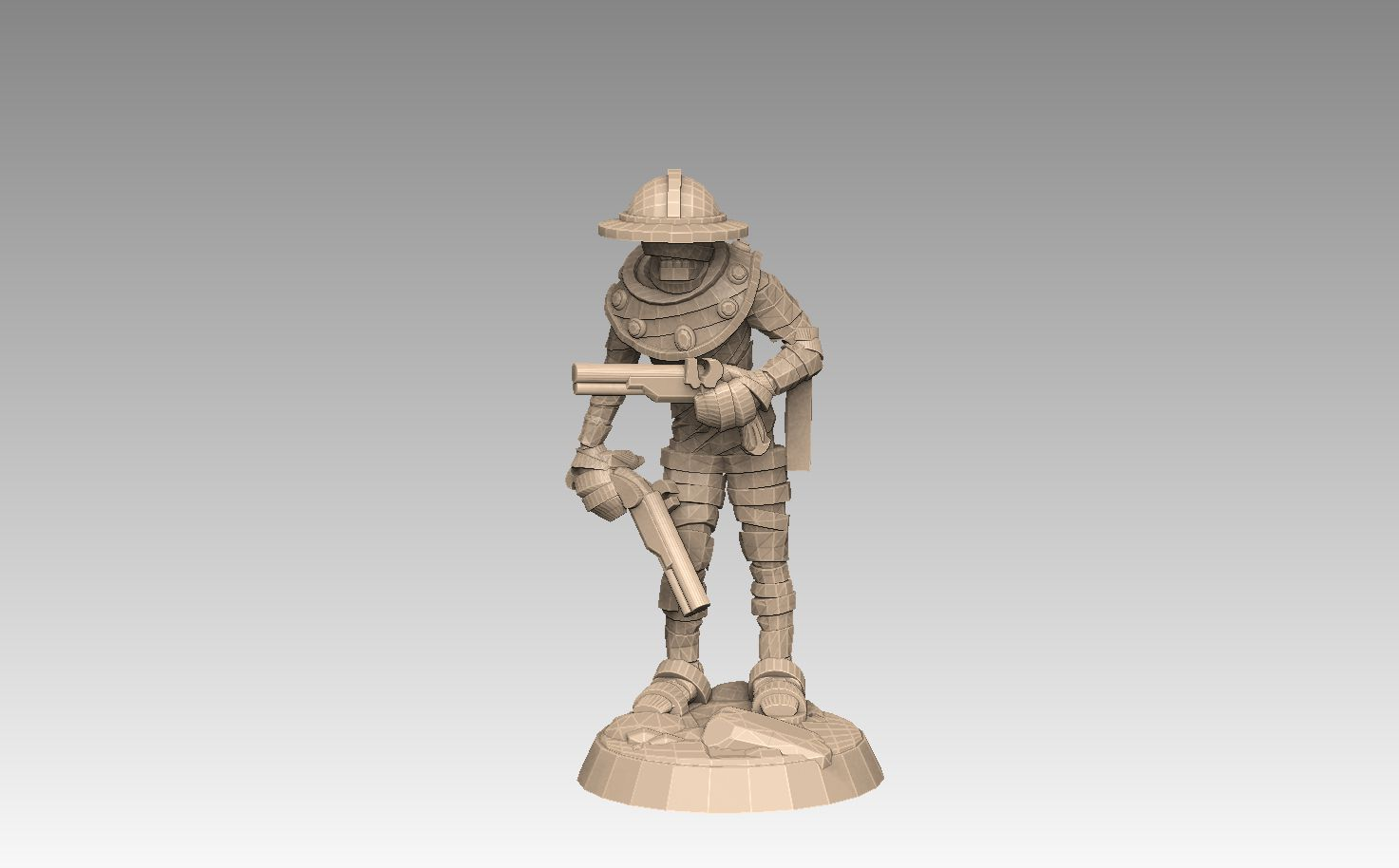 mh2-prom3f.jpg Download STL file Mummy Pack 1 • 3D printing object, SharedogMiniatures