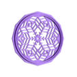 Mandala_front.stl Download free STL file Echo Dot Headphone Stand (2 designs) • Object to 3D print, 3DPrintBunny
