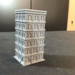 IMG_0371_J.jpg Download free STL file Titanstructure Dark future 8mm scale buildings for epic titanicus. Type 00. • Object to 3D print, Kal_Foxx