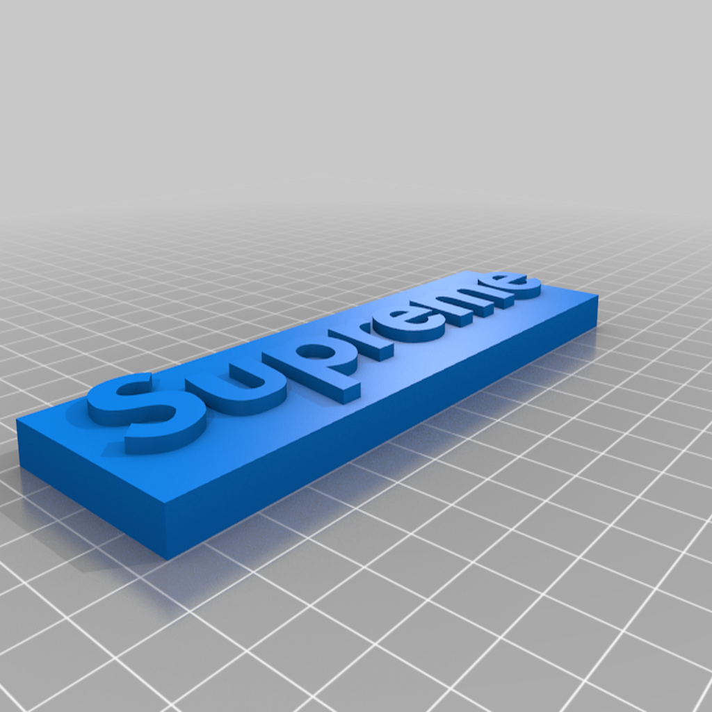 supreme3.png Download free STL file Misc. Magnets • 3D printable template, EmbossIndustries