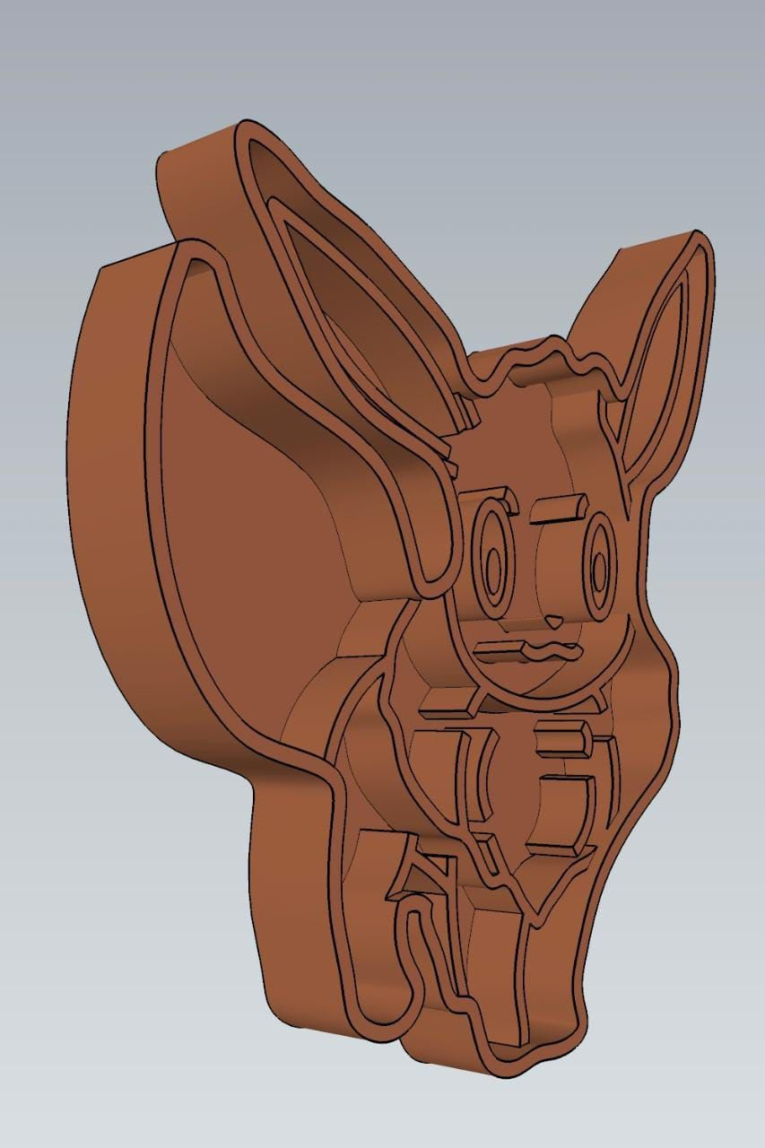 WhatsApp-Image-2021-07-07-at-9.11.55-PM.jpeg Télécharger fichier STL AMAZING POKEMON Eevee COOKIE CUTTER STAMP CAKE DECORATING • Objet pour impression 3D, Micce
