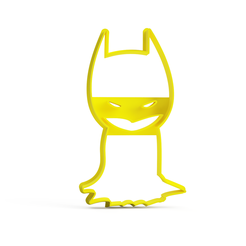 mini-batman-cuerpo.png Télécharger fichier STL batman mini cookie cutter - mini batman cookie cutter - mini batman cookie cutter • Objet pour imprimante 3D, Argen3D
