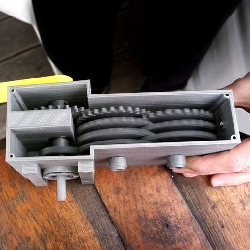 Foto02.jpg Download free STL file Gearbox 256 / Getriebe 256 • 3D printer object, CONSTRUCTeR