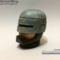 Capture d'écran 2016-12-12 à 22.12.37.png Download free STL file Robocop Head Bust (Full and Split) • 3D printable model, Geoffro