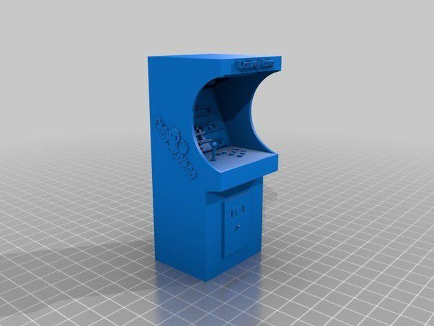 63007a649d8e0034dc0b010629978475_preview_featured.jpg Download free STL file Donkey kong arcade • Design to 3D print, tyh