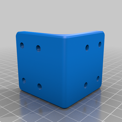 Breckie.png Download free STL file 90° Angle Bracket • Template to 3D print, sYcore