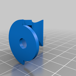 Body1.png Download free STL file Door handle holder • Template to 3D print, cctl01