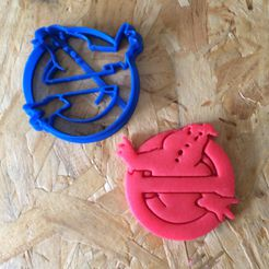 IMG_6236.JPG Download free STL file cookie cutter ghostbusters, dough cutter • Object to 3D print, porahi3d