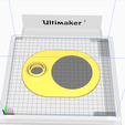 Capture3 - Copie.PNG Download free STL file Gramazon 3rd Gen V2 - Amazon Echo Dot 3 Amplifier • 3D printer template, DaGoN