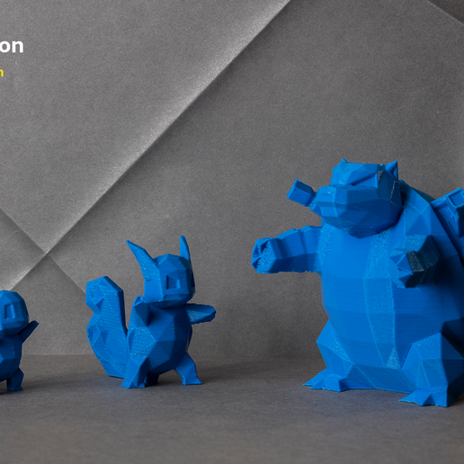 pokemon-low-poly046.png Download file Low Poly Pokemon Collection 151 • 3D printable object, 3D-mon