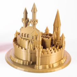 f4a4a67d850e99261b14353649695f47_preview_featured.jpg Download free STL file Fantastic Castle • 3D printer model, Vik60