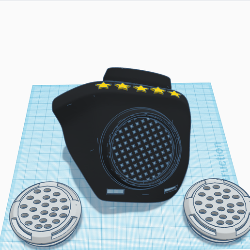 3D design Funky Hillar _ Tinkercad - Google Chrome 16_04_2020 22_04_52.png Download STL file masque covid 19 • 3D print object, billy_and_co_official