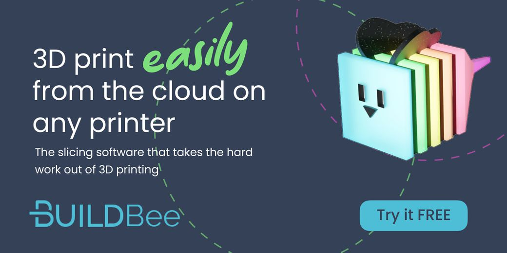 AD • BuildBee • 3D print easily from the cloud on any printer with BuildBee's slicing software