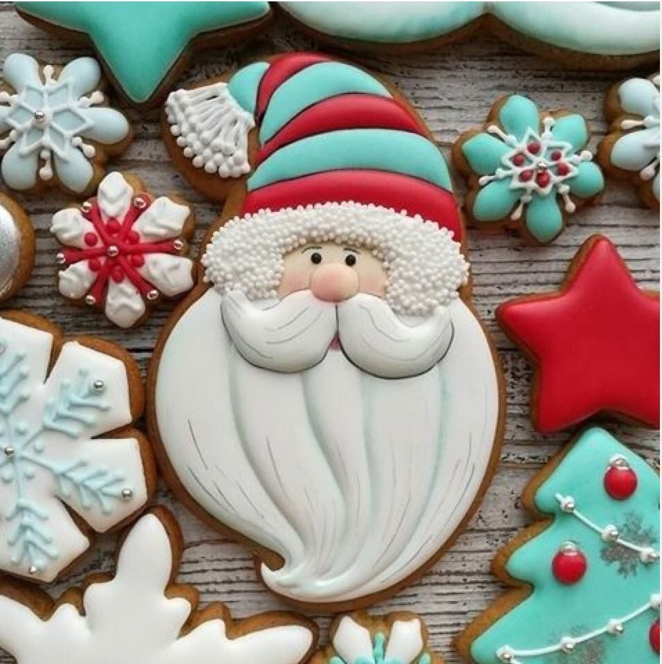 Galletas decoradas con amor.jpeg Download free STL file 5 Simple Christmas Cookie Cutter (For Decoration) • Template to 3D print, NicoDLC