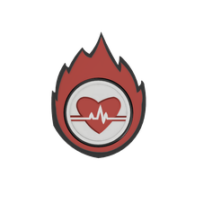 Responder Firebreather t.png Download STL file Fallout 76 Fire Breathers pin/magnet • 3D printing template, DarkstarrCosplay