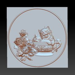 CATS1.jpg Download free STL file cats • 3D printing design, stlfilesfree