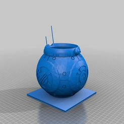 a0ea87010b52a55fa0285f43a8a87155.png Download free STL file BB8 Google Home Mini + Storage • 3D printer template, ninja5150