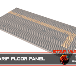 scarif_floor_panel_1-12.png Download free STL file Star Wars Rogue One Scarif floor plates 1:12 • Object to 3D print, massassiorder