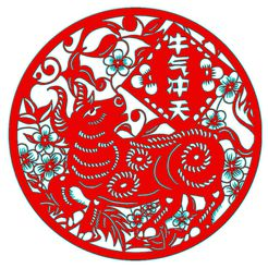 1-2.jpg Download STL file Chinese New Year paper-cut 1,2 • Template to 3D print, KEVIN88-Coke