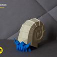 pokemon-low-poly014.png Download file Low Poly Pokemon Collection 151 • 3D printable object, 3D-mon