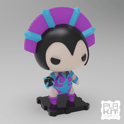 SQELYN (1).png Download free STL file Evil-Lyn (Masters Of The Universe) • 3D print object, purakito
