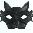 carnival _mask_combine_01.png Download STL file Carnival Mask Collection 7 pieces Masquerade facewear • 3D print template, polygonface