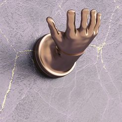 hand_shape_01.jpg Download STL file Hand shape hanger • 3D printer model, VALIKSTUDIO