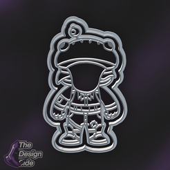 Beef-Boss-Funko-1.png Download STL file Fortnite Beef Boss Cookie Cutter (Premium) • Design to 3D print, TheDesignSide