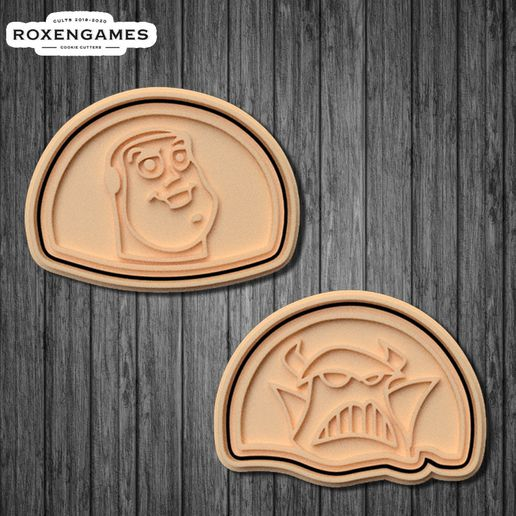 poster 3.jpg Download STL file Toy Story cookie cutter set of 10 • 3D printing template, roxengames