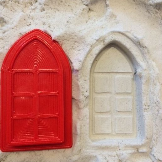 castle_Githic_window_by_ctrl_design_large.JPG Download free STL file sand castle • 3D printable object, Byctrldesign