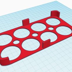 3cccb78177.jpg Download free STL file Egg holder for the refrigerator. • 3D print object, zlo2k