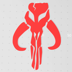 222.PNG Download free STL file Mandalorian Mythosaur symbol  • 3D printer object, idy26