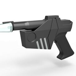 1.jpg Download STL file Hawk Blaster from Buck Rogers in the 25th Century TV series • Design to 3D print, CosplayItemsRock
