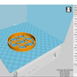 2018-01-30 (6).png Download free STL file Coaster with support • 3D printer design, YAN-D