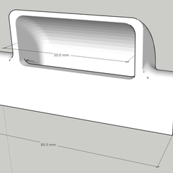 conv.PNG Download free STL file Hot Air Deflector for Acer Nitro 5 • 3D printing design, federico9292
