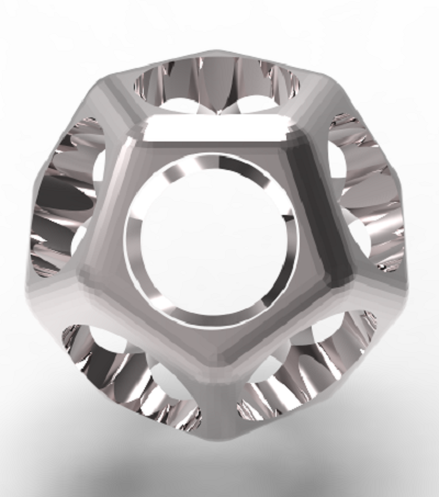 dodecahedron-ring.PNG Download STL file Dodecahedron Signet • Template to 3D print, plasmeo3d