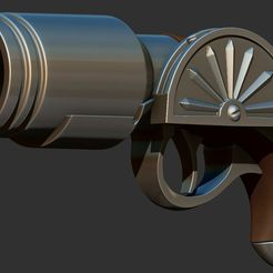 ZBrush_Document.jpg Download free STL file Attack on Titan Flare Gun • 3D printing object, Ben3d