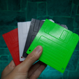 IMG_20210313_151459.png Download free STL file Floppy Disk Micro SD Card Holder • 3D print template, Dehapro
