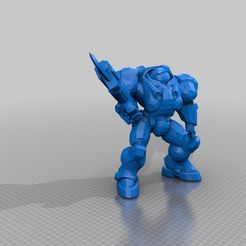 26d65cae2a4bea293d3018e4e1896c79.png Download free STL file Heroes of the Storm Raynor • 3D printing template, Mylakovich