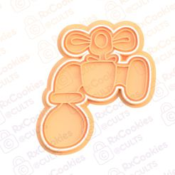 tap.jpg Download STL file Tap cookie cutter • Template to 3D print, RxCookies