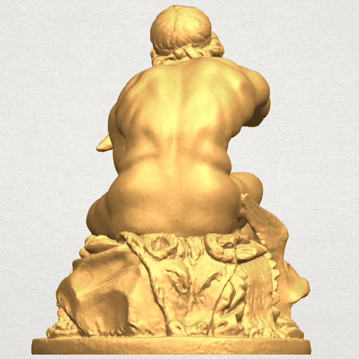 TDA0551 Sculpture of Thor A04.png Download free STL file Sculpture of Thor • 3D printing object, GeorgesNikkei