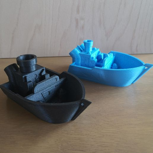 Turbo-BOATs.jpg Download free STL file Turbo-BOAT --> Print in Place / NO SUPPORTS / No assemble • 3D print model, DanDerDrucker