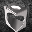 cube-ovoide-ring.PNG Download file Signature Cube Ovoid • Template to 3D print, plasmeo3d