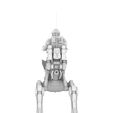 4.jpg Download STL file REBEL AT-RT WALKER, LEGION SCALE, STAR WARS, RPG, UNPAINTED, ROLE PLAYING, D&D • Template to 3D print, LANARDARNA