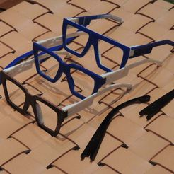 DSCN9646.jpg Download free STL file POP Glasses • 3D printable template, SimonePDA