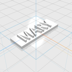 MARY.png Download STL file MARY letters • 3D printer object, 3D_Names