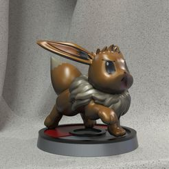 eevee2.jpg Download free STL file Elevator • Template to 3D print, JulioCesar_3DD